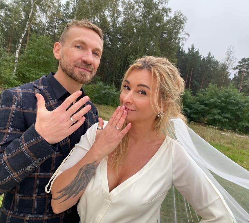 Martyna Wojciechowska i Przemysław Kossakowski wzięli ślub