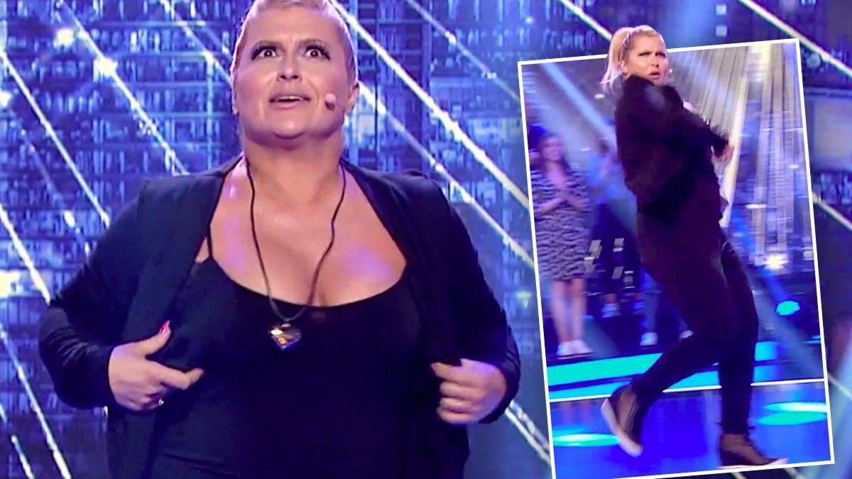 Katarzyna Skrzynecka tańczy Bałkanicę
