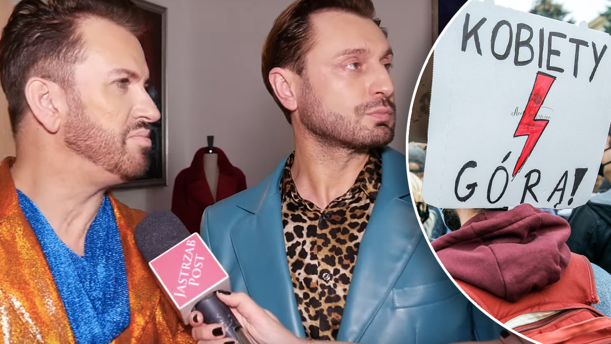 Rafał i Gabriel o Strajku Kobiet