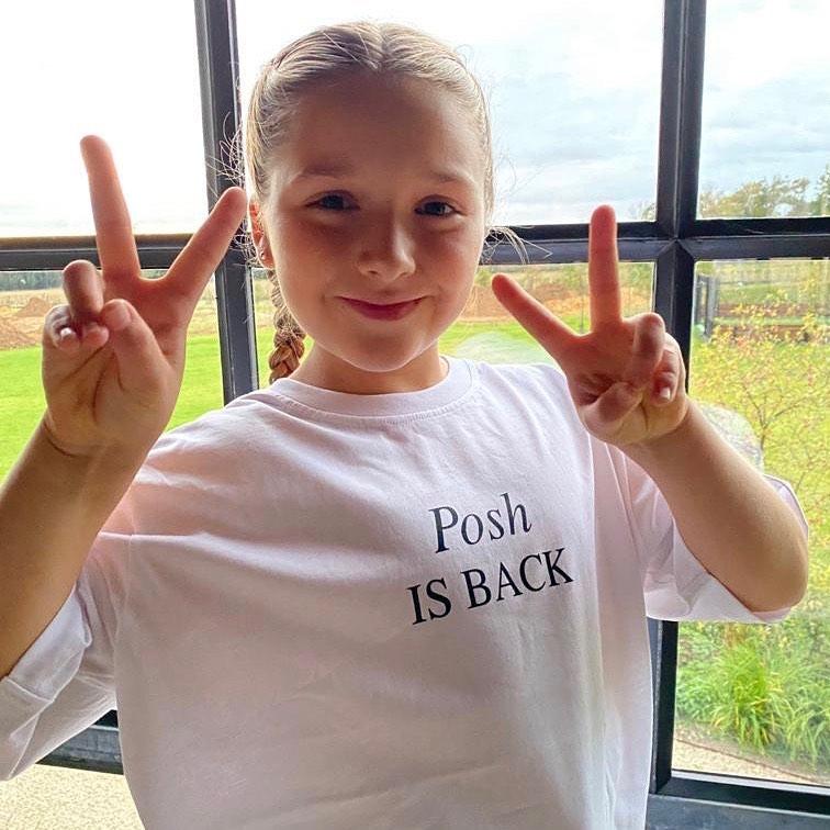 Harper Beckham na najnowszym zdjęciu