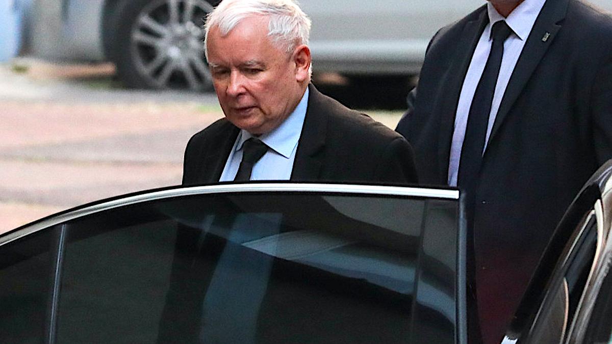 Jarosław Kaczyński z ochroną