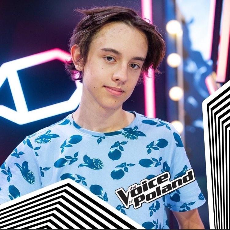 Ignacy Błażejowski w The Voice of Poland
