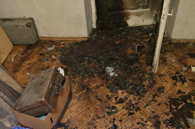 Spalone mieszkanie Stefana Okołowicza