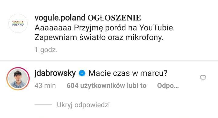 Jan Dąbrowski wygadał się kiedy rodzi Sylwia Przybysz