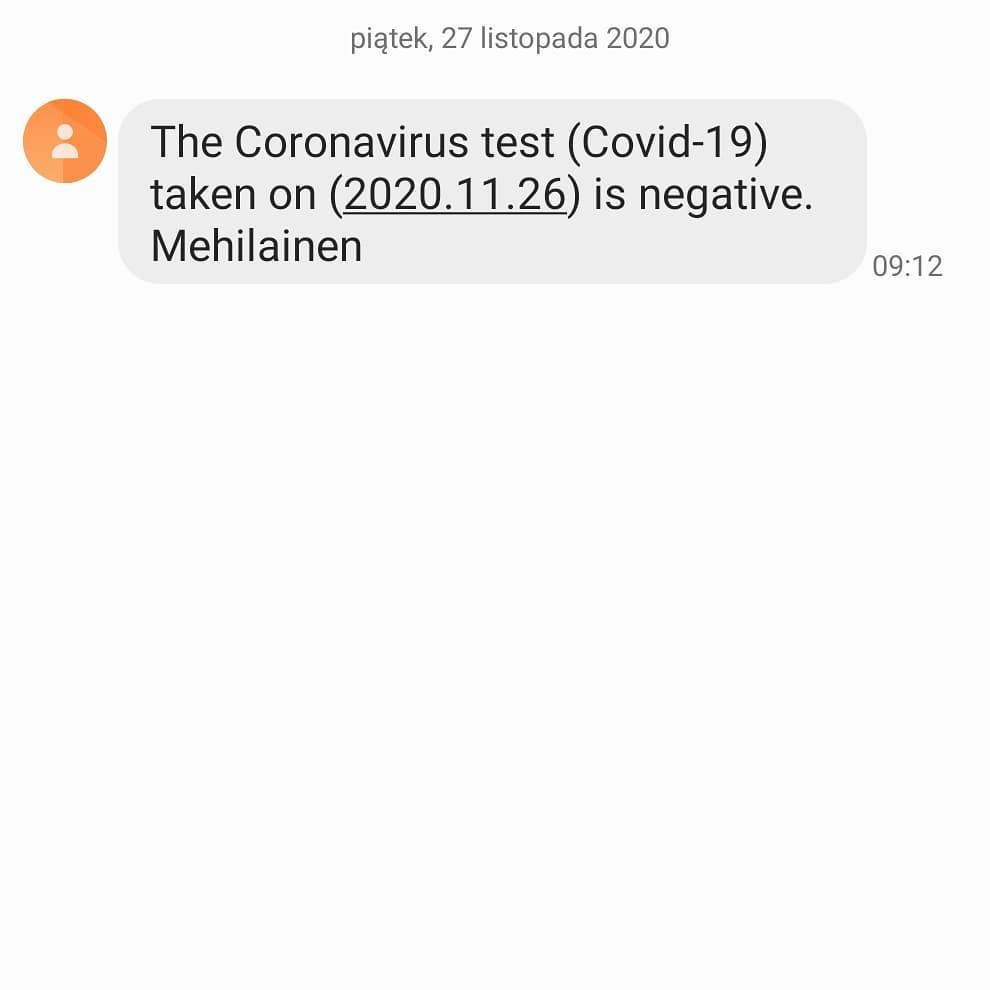 Piotr Żyła pokazał wynik testu na koronawirusa