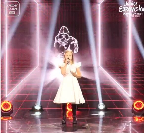 Ala Tracz występ na Eurowizja Junior 2020