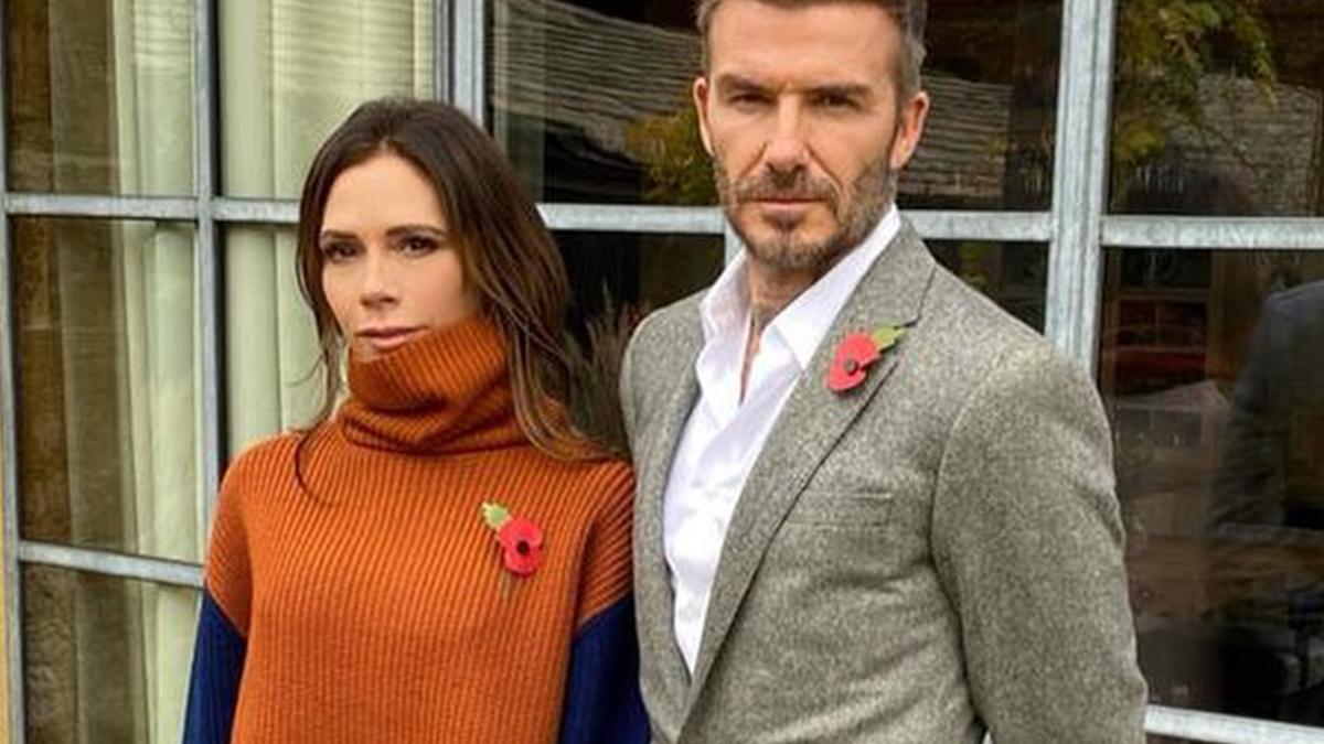 Beckhamowie świętują Dzień Pamięci