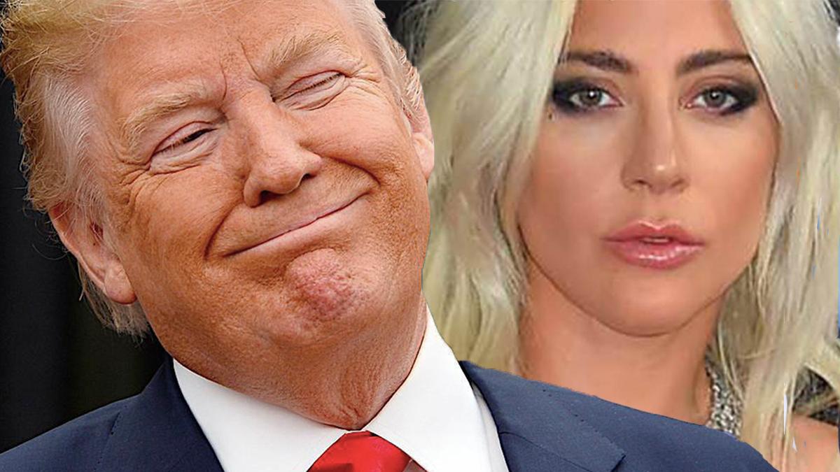 Donald Trump i Lady Gaga