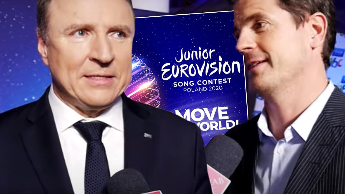 Martin Osterdahl i Jacek Kurski o przygotowaniach do Eurowizji Junior 2020