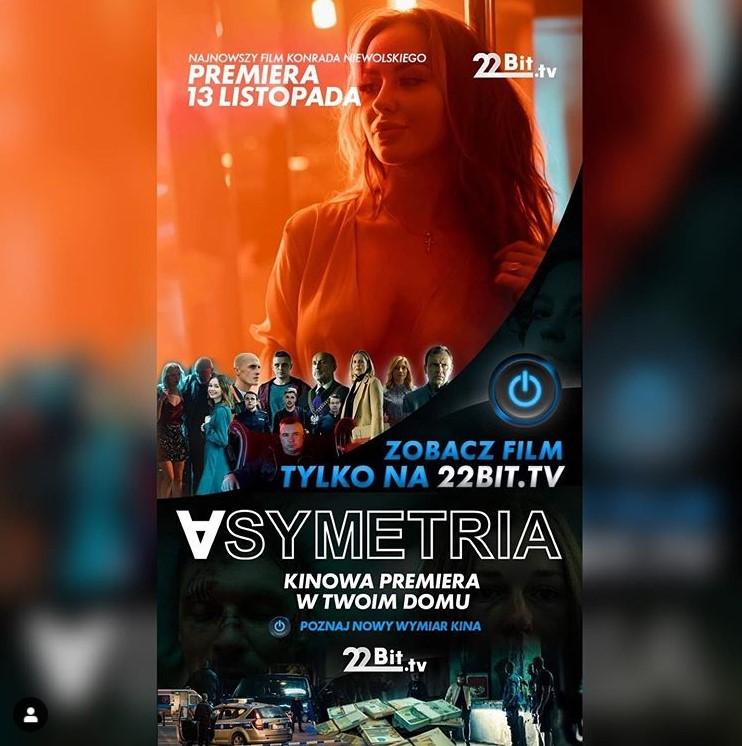 Julia Skrodzka pojawia się w filmie Asymetria
