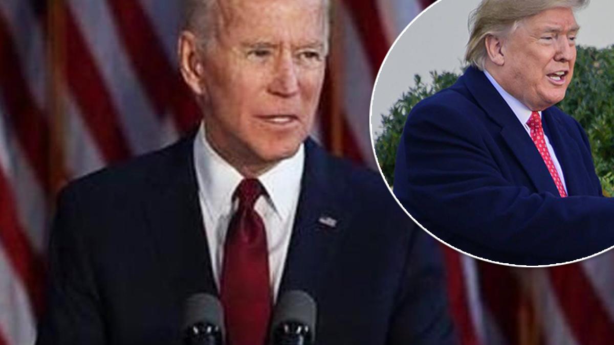 Joe Biden komentuje zachowanie Donalda Trumpa