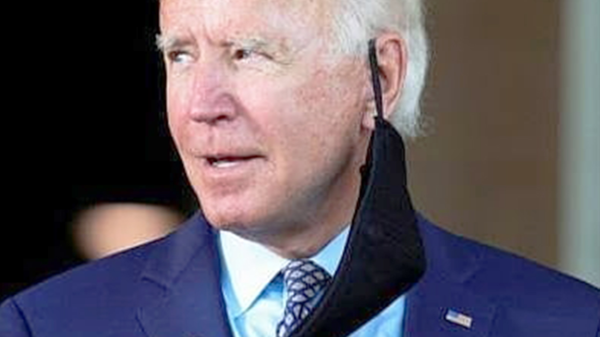 Joe Biden - wpadka