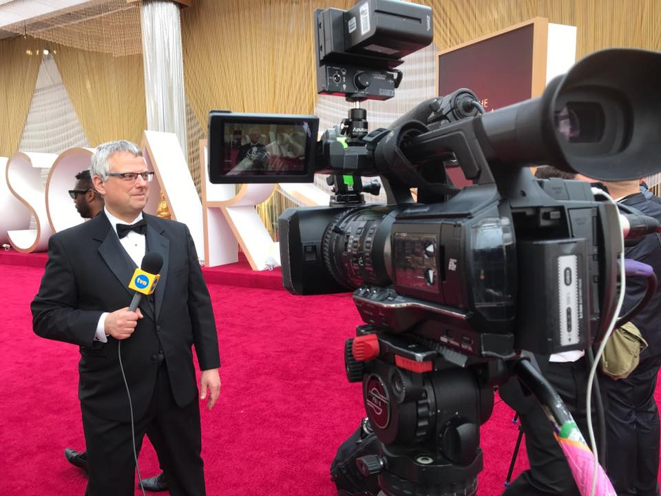 Marcin Wrona jest korespondentem TVN
