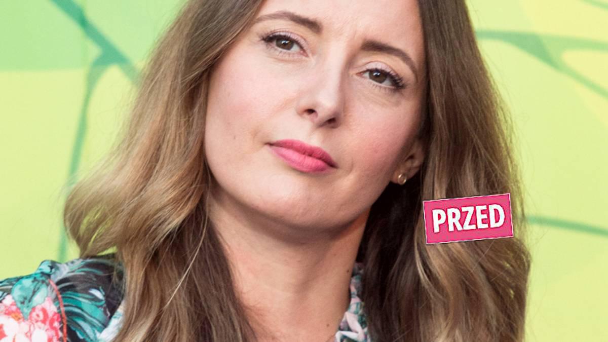 Monika Kuszyńska - nowa fryzura