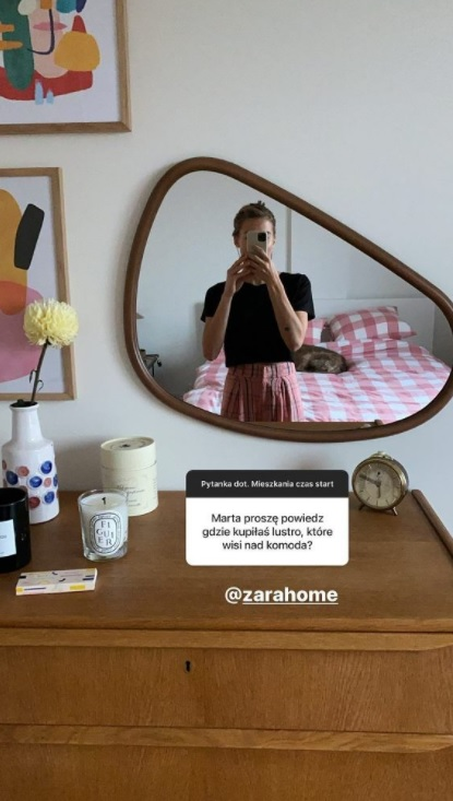 Marta Wierzbicka sypialnia