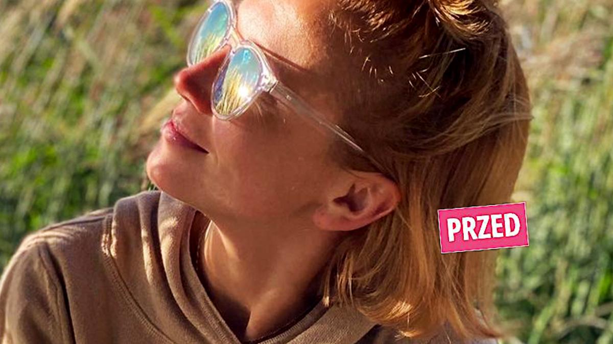 Kasia Zielińska - nowa fryzura