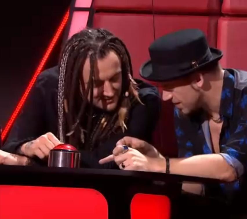Baron i Tomson w The Voice of Poland
