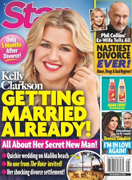 Kelly Clarkson na okładce STAR