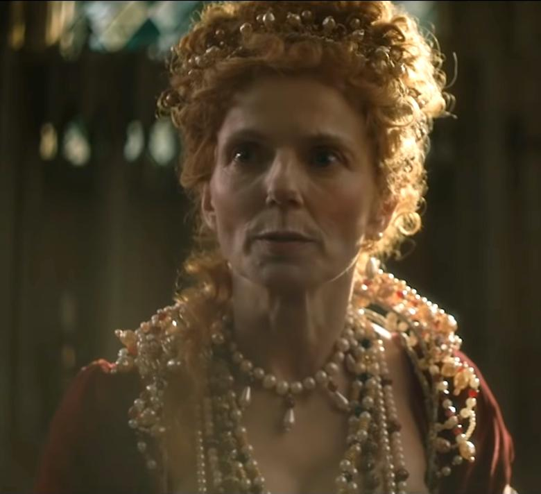 Geri Halliwell jako królowa Elżbieta I w The Queen Speaks
