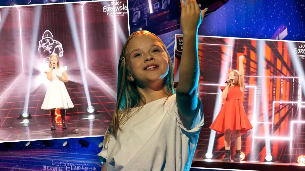 Ala Tarcz na Eurowizji Junior 2020