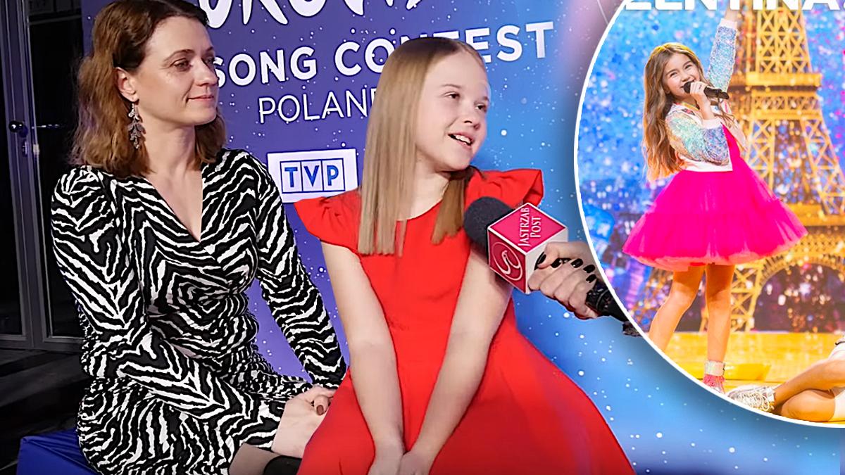 Ala Tracz z mamą na Eurowizji Junior 2020