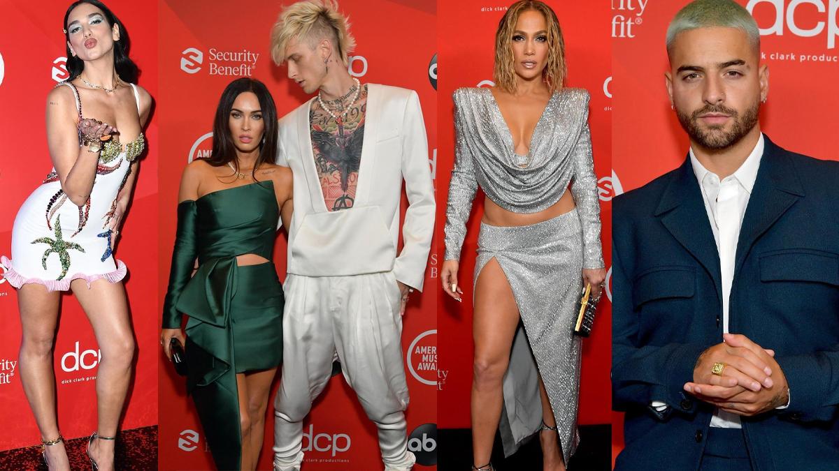 American Music Awards 2020: kreacje gwiazd