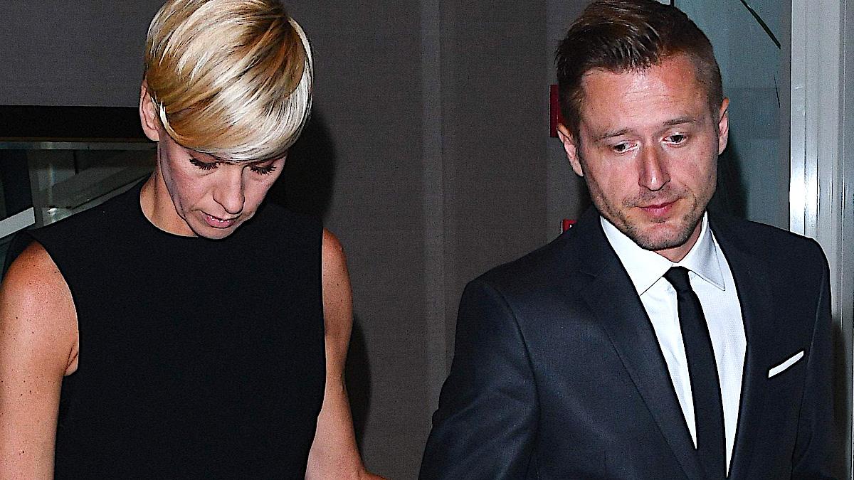 Anita Werner z partnerem