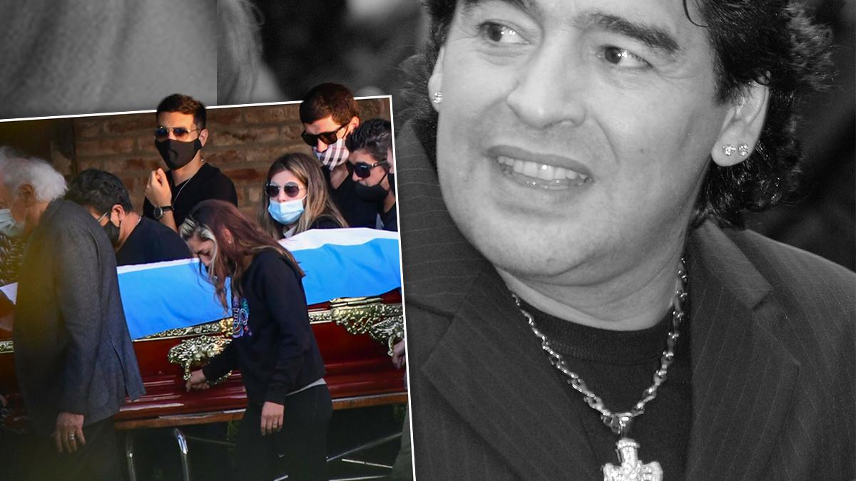 Pogrzeb Diego Maradony