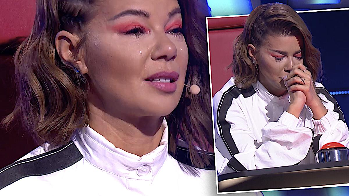 Edyta Górniak płacze w The Voice of Poland