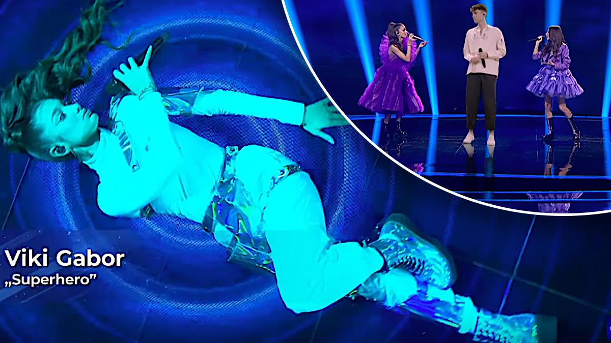Viki Gabor na Eurowizji Junior 2020