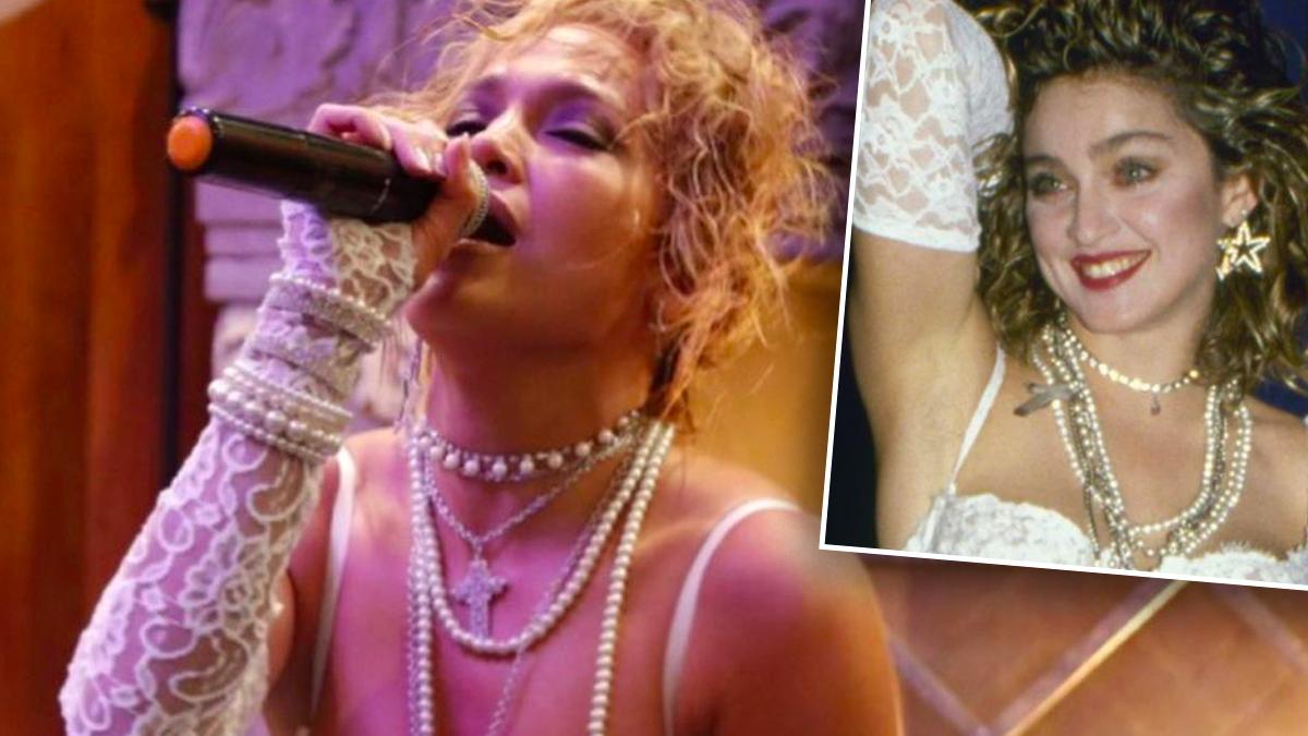 Jennifer Lopez jako Madonna