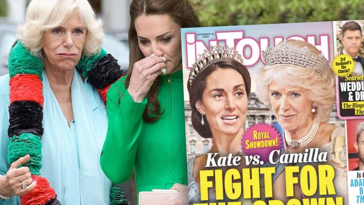 Camilla i księżna Kate