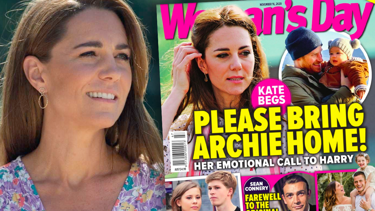 Księżna Kate tęskni za Archiem