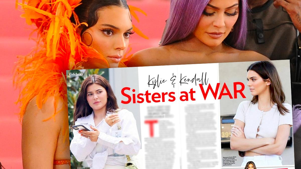Kłótnia Kylie i Kendall Jenner