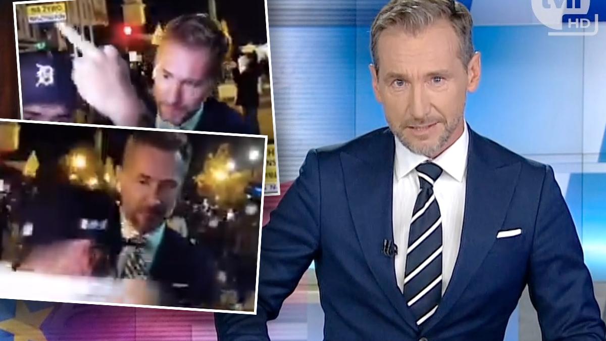 Piotr Kraśko, relacja dla TVN24