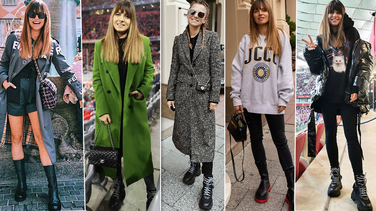 Anna Lewandowska - luksusowe ubrania