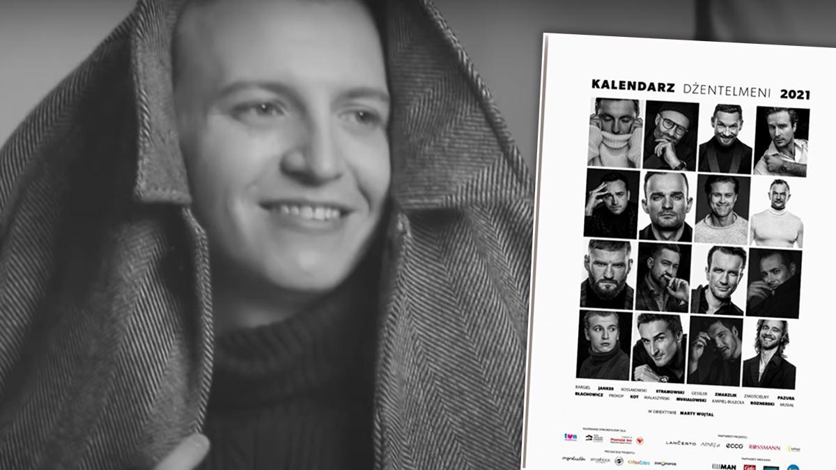 Maciej Musiałowski w Kalendarz Dżentelmeni 2021