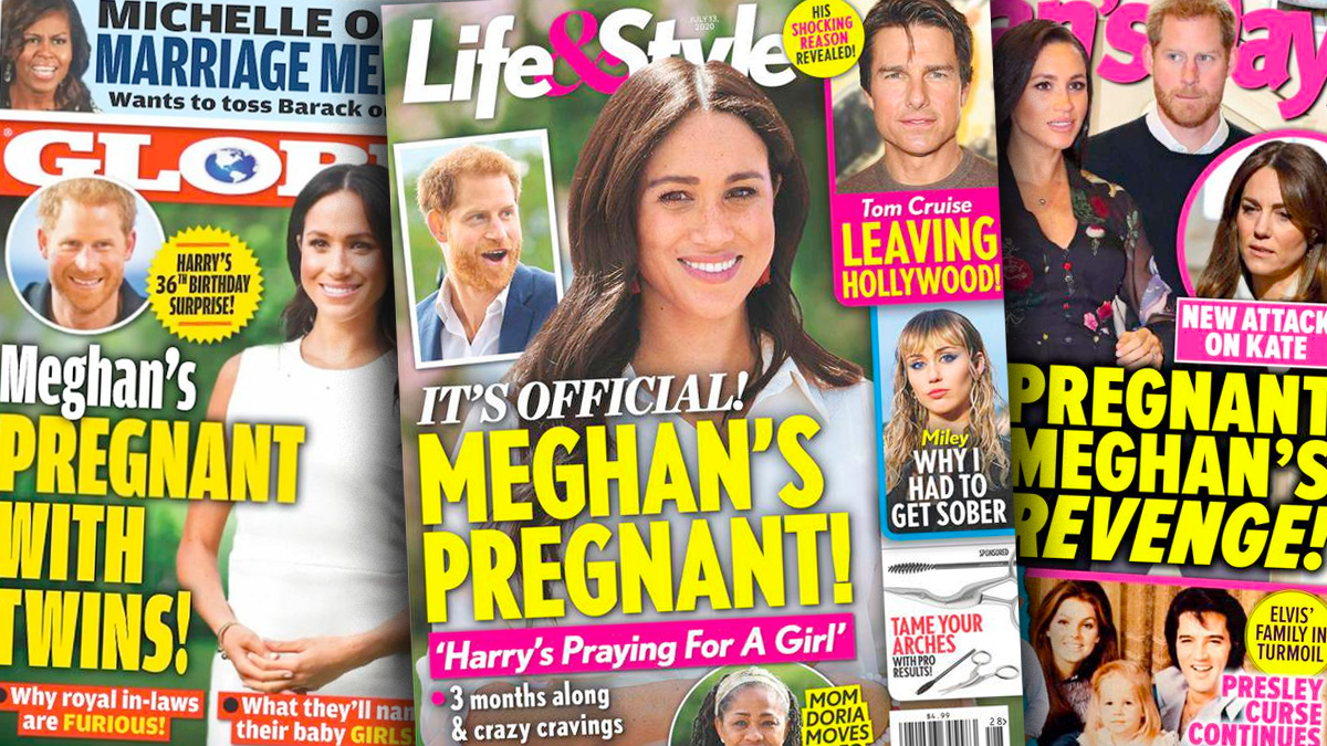 Prasa o ciąży Meghan Markle