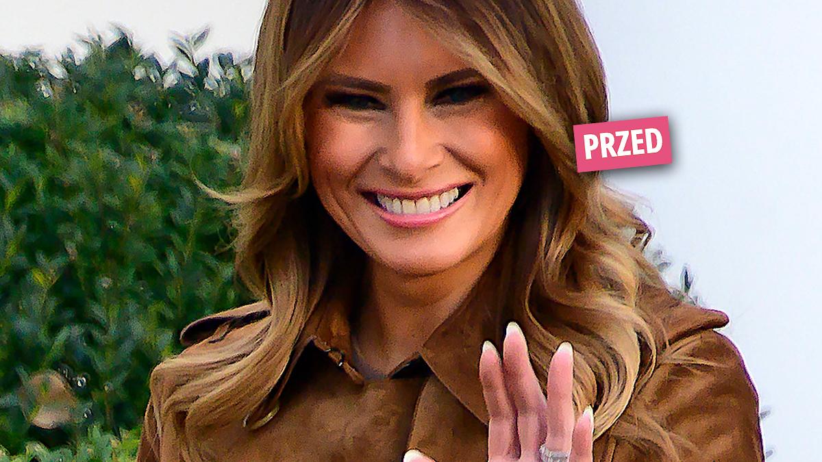 Melania Trump – nowa fryzura