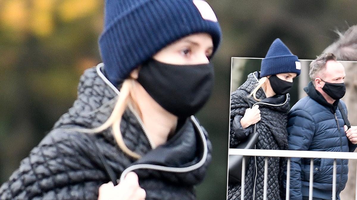 Halina Mlynkova i Marcin Kindla trzymają się za ręce