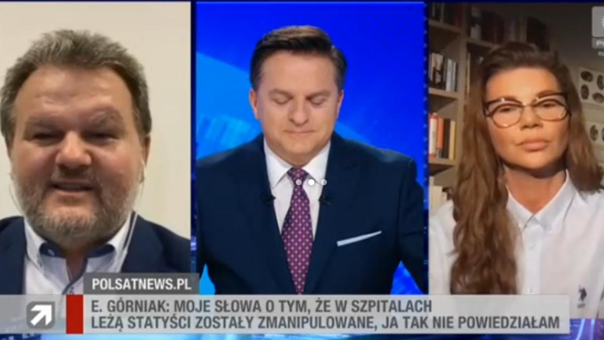 Edyta Górniak w Polsat News
