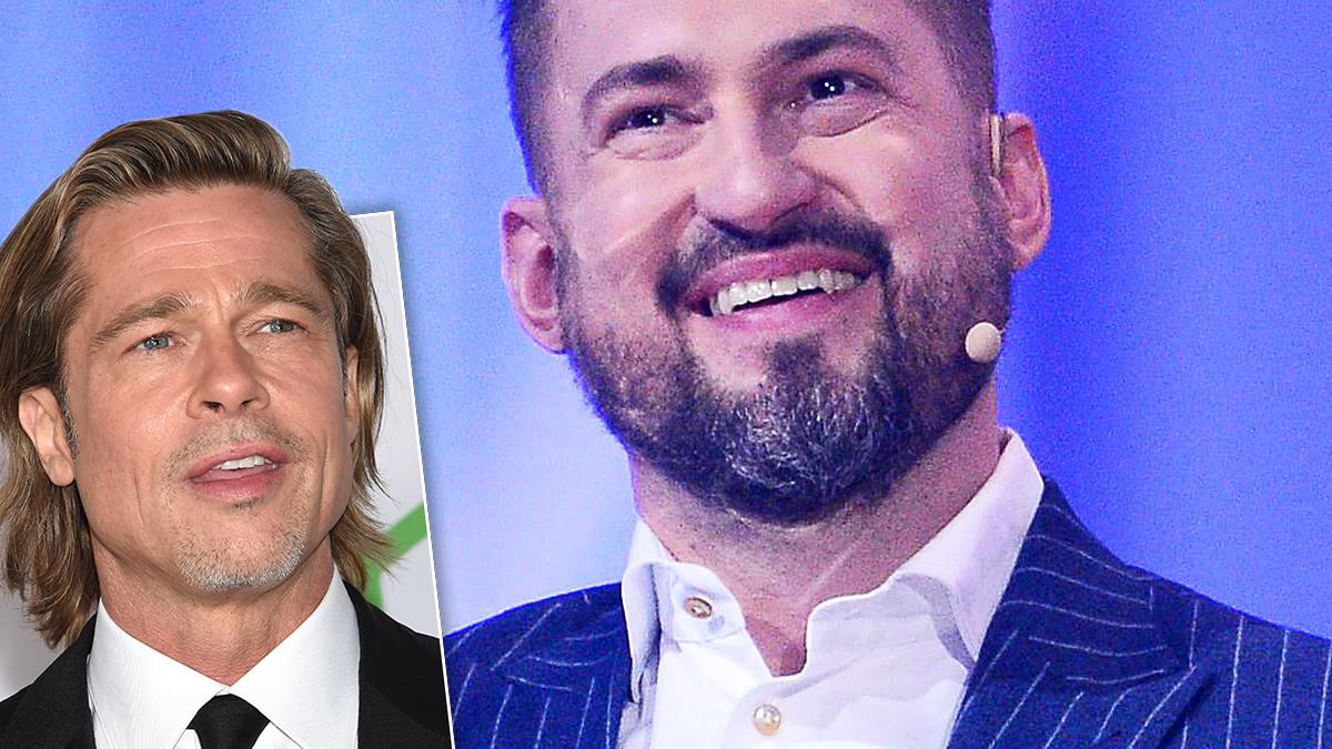 Brad Pitt i Marcin Prokop