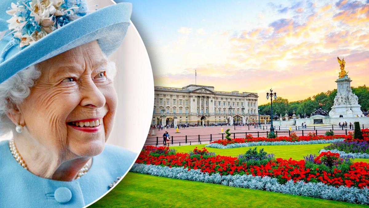 Królowa Elżbieta II, pałac Buckingham