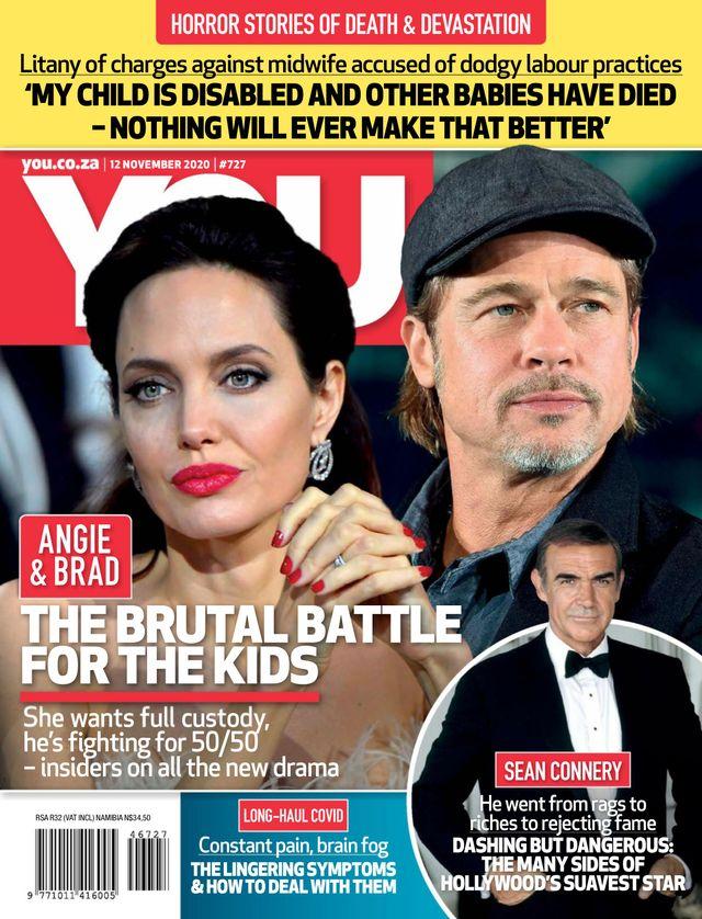 Brad Pit i Angelina Jolie na okładce YOU