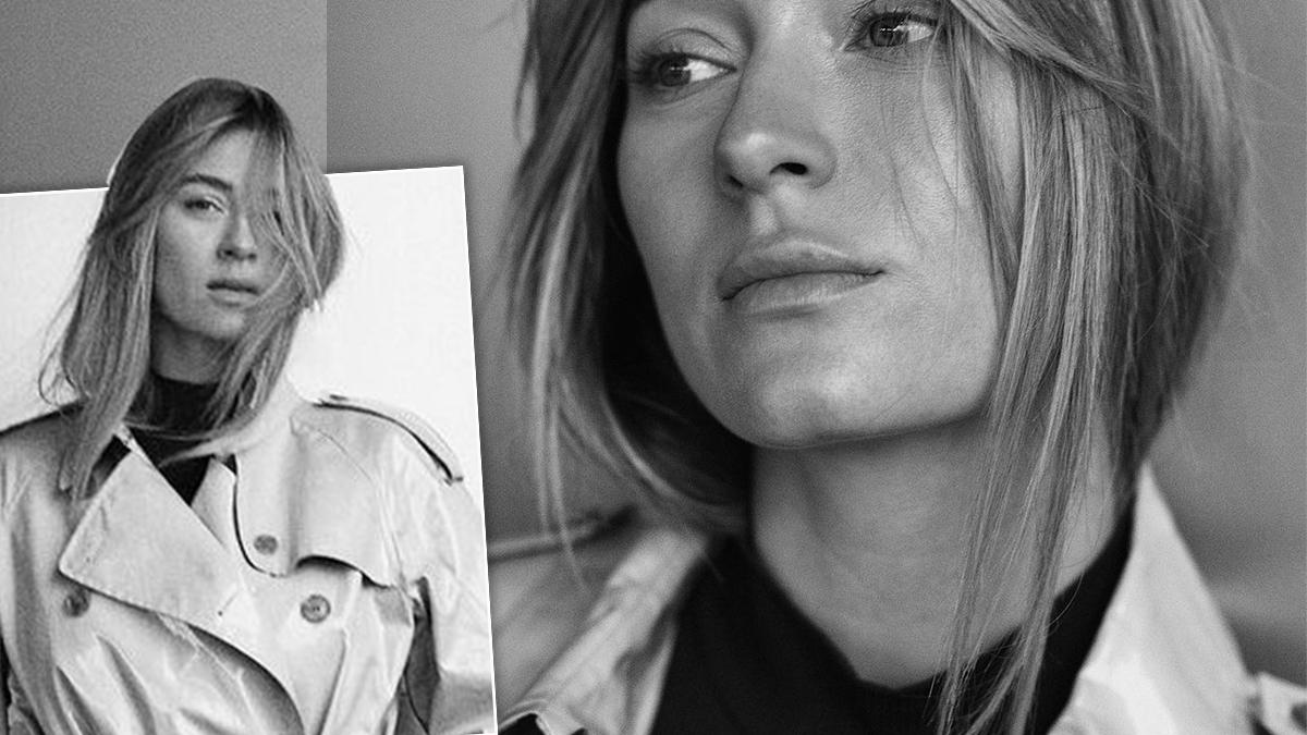 Marcelina Zawadzka pokazała czarno-białą sesję zdjęciową