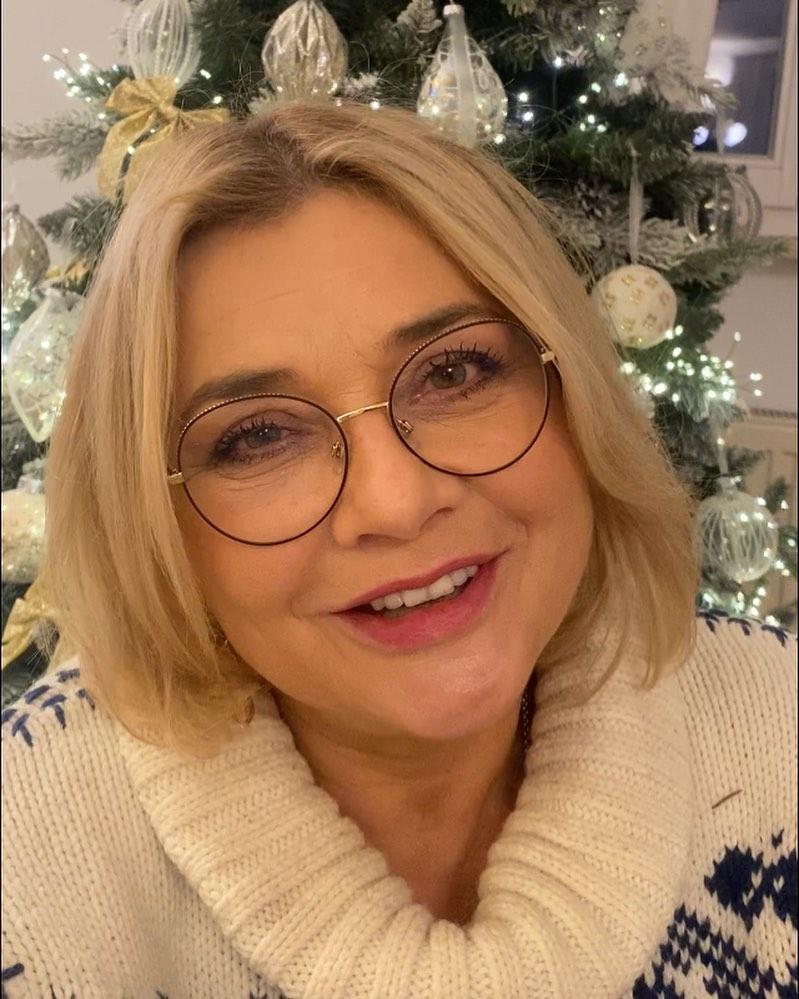 Małgorzata Ostrowska-Królikowska jest gotowa na Boże Narodzenie 2020