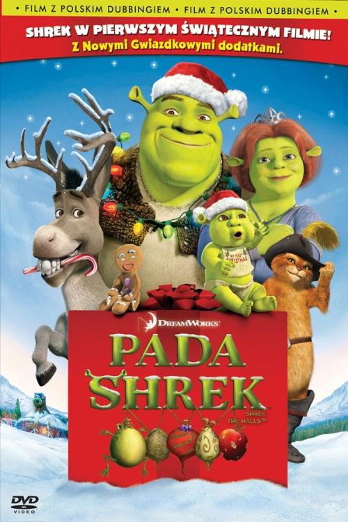 Pada Shrek pojawi się na antenie w Boże Narodzenie