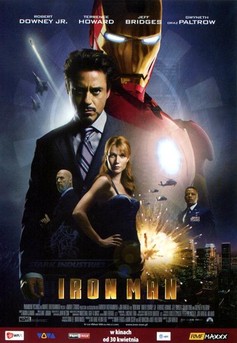 Robert Downey Jr. wcielał się w postać Iron Mana