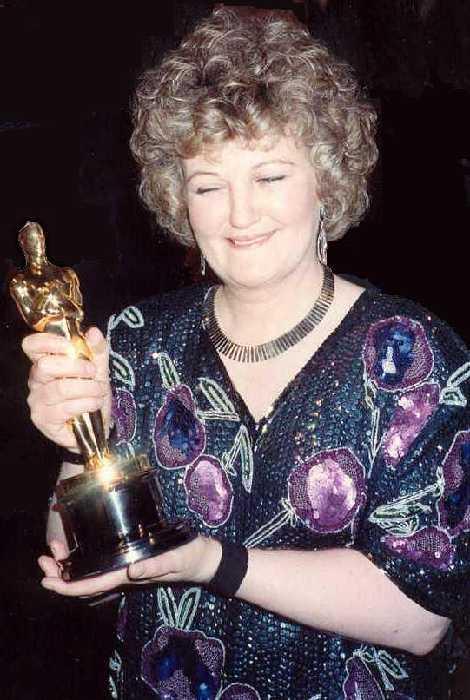 Brenda Fricker z Oscarem, 1990 rok