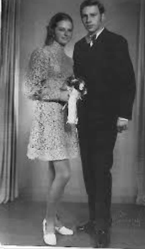 Jerzy Stuhr z żoną Barbarą